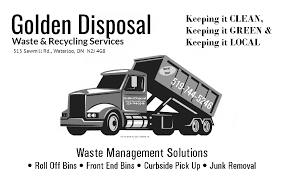 kitchener garbage collection golden disposal waste and recycling services greater kitchener