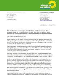 Stadt Baden Baden Grüne Fordern Erhalt Einer Grüngutsammelstelle Für Das Baden
