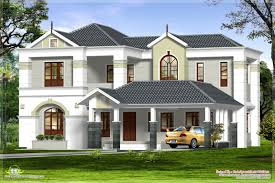 2000 sq feet 4 bedroom luxurious house exterior kerala home