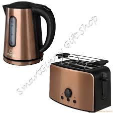 Kettle Toaster Sets Uk Morphy Richards Copper Accents Kettle U0026 Toaster Set Copper Like