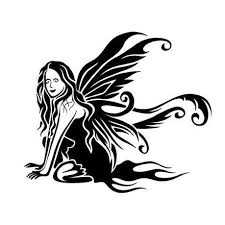 gothic fairy tattoo design tattoowoo com