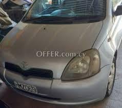 toyota yaris 2001 for sale toyota yaris 2001 for sale 81445en cyprus cars offer com cy