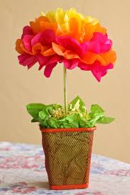 flower centerpieces one crafty mama easy tissue paper flower centerpieces tutorial