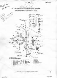 nissan murano wheel bearing replacement strut mount question help nissan murano forum