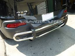 chrome jeep cherokee jeep cherokee bumper protector fits jeep grand cherokee rear