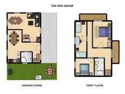 Holiday House Floor Plans by The Red House The Red House Spodnje Gorje Bled Slovenia