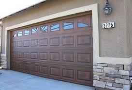 Martin Overhead Doors by Custom Faux Wood Garage Doors Installation U0026 Sales Az