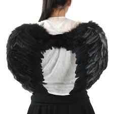 Angel Wings Halloween Costume Christmas Halloween Costume Feather Angel Wings Black Women U0027s