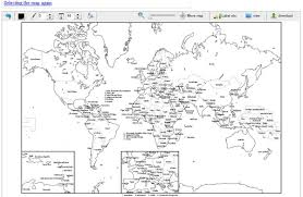 world map black and white with country names pdf 12 great resources to get useful world map information projects