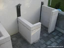 outdoor küche outdoor küche mit kalksandsteinen mauern wir bauen dann mal ein haus