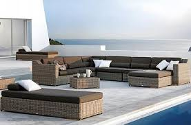 Modern Luxury Sofa Beautiful Wicker Modern Outdoor Furniture Luxury Modern Outdoor