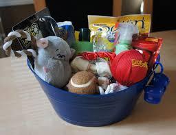dog gift baskets a welcome basket for doobie