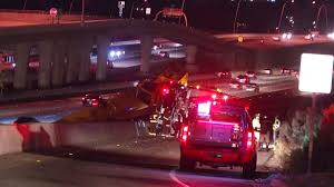 Sigalert San Diego Map by Crane Tips Over Near Sr 56 I 15 Prompting Hazmat Response Nbc