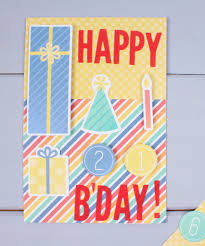 5 easy birthday cards in 5 minutes hobbycraft blog