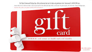 nail salon gift cards monthly promote nail salon nail salon marketing