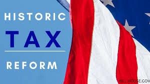 French Flag Banner House Passes Tax Reform Legislation To Help Arkansas Families