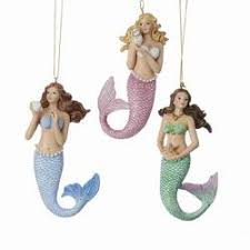 mermaid ornaments the mouse