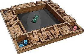 Mohegan Sun Floor Plan 4 Way Shut The Box Game Duluth Trading