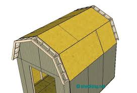 Hip Roof Barn Plans Shed Roof Gambrel How To Build A Shed Shed Roof