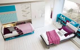 Furniture Single Bed Design Turquoise Furniture Accent For Beautiful Teens Bedroom Interior