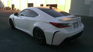lexus wrapped lexus rcf scratchless carbon fiber u2014 incognito wraps