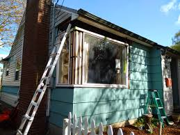 Mid Century Modern Window Trim by Siding And Window Restoration Of Our 1950 House