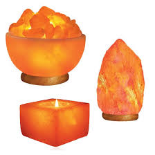 rock salt lamps for home decor offer a healthy himalayan touch