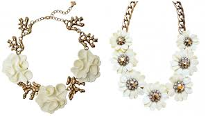 statement necklace with flower images Style guide for chunky necklaces jpg