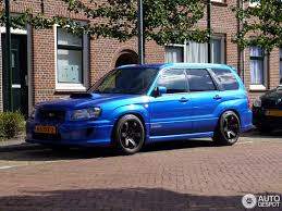 blue subaru forester 2003 subaru forester sti 21 september 2013 autogespot