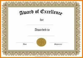 Prize Certificate Template 7 Blank Winner Certificate Retail Resumes