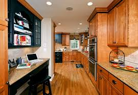 Black And Oak Kitchen Cabinets - oak kitchen cabinets kitchen transitional with accent wall ceiling