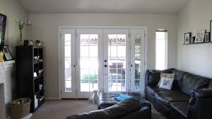 inexpensive window treatments for french doors window treatment