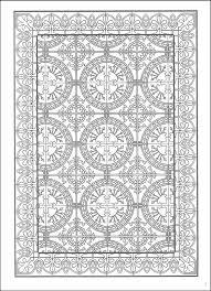 decorative tile designs coloring book 027014 details rainbow