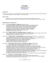 Supply Chain Resume Format Small Business Owner Resume Template Bongdaao Com