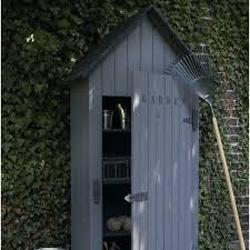 Leroy Merlin Serre Jardin by Armoire De Jardin Bois Wissant Naturelle L 78 X H 190 X P 44 Cm