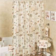 Sheer Shower Curtains Seashore Semi Sheer Coastal Shower Curtain From Chapel Hill By
