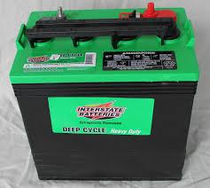 new interstate 8v 8 volt golf cart battery battery deep cycle ezgo