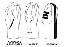 master s cap and gown graduation gown differences by degree level graduation