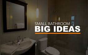 big ideas for small bathrooms small bathroom big ideas cadet