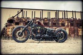 v star dragstar 650 by the guys at tail end customs bikes