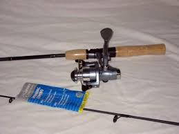 ultra light rod and reel pflueger pflueger spinning combo ctn2425 criterion reel w pflueger