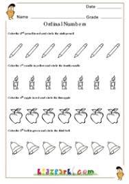 ordinal numbers worksheet play activity sheet downloadable