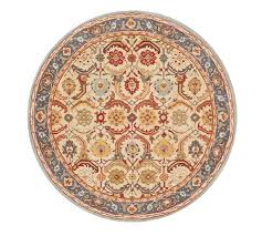 Round Rug Pottery Barn 188 Best Pottery Barn Rugs Images On Pinterest Persian Pottery
