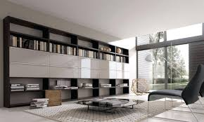 Wall Units For Living Room Prisma Modern Tv Wall Storage Unit In Anthracite Gloss Finish