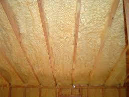 closed cell spray foam insulation for attics