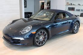 blue porsche 911 used 2016 porsche 911 carrera 4s cabriolet roslyn ny