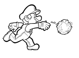 coloring pages mario theotix me