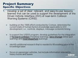 clear l base to fill 1 crash warning system interfaces human factors insights and