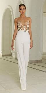 formal jumpsuits for wedding 28 gorgeous wedding pantsuits and jumpsuits for brides abed