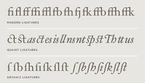 hoefler text font features special characters hoefler co